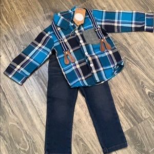 Other - Toddler boys boutique outfit